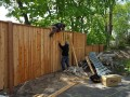 The effects of warm weather on Fence installation